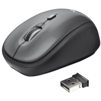 Мышь Trust Yvi Wireless Mini Mouse Grey