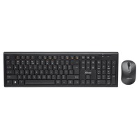 IT набір Trust Nola Wireless Keyboard With Mouse Black