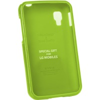 Чехол VOIA LG Optimus L4II Dual Jelly Lime
