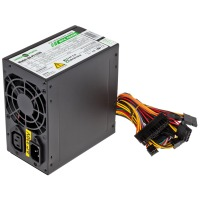 Блок питания Logicpower GreenVision GV-PS ATX S400/8 400W Black