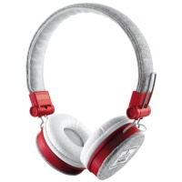Гарнитура Trust Urban Revolt Fyber Headphone Grey/Red