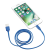Кабель Trust Urban Lightning Cable 1m Blue