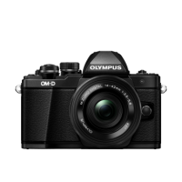 Цифрова системна фотокамера Olympus E-M10 mark II Pancake Zoom 14-42 Kit black/black