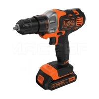 Шуруповерт Black&Decker MT218KB 18V, 20.9Нм, Li-ion, 2 акк.