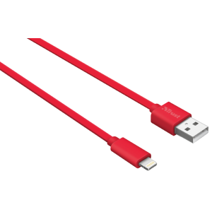 Кабель Trust Urban Lightning Cable 1m Red