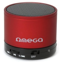 Акустика Omega Bluetooth OG47R red