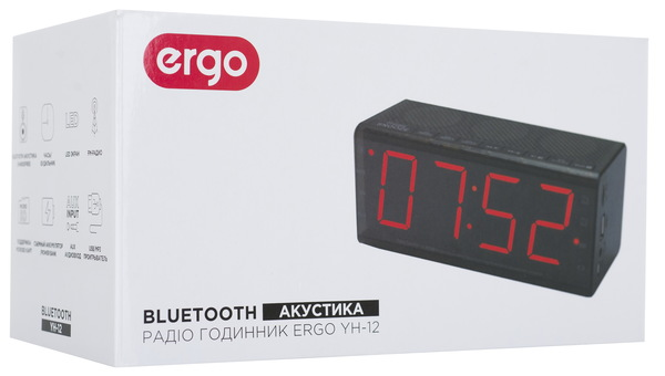 Радіогодинник ERGO YH-12 - купити за вигідною ціною на офіційному ... 8b2727bf23a97