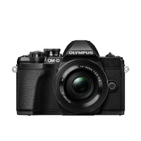 Цифрова камера OLYMPUS E-M10 mark III Pancake Zoom 14-42 Kit black