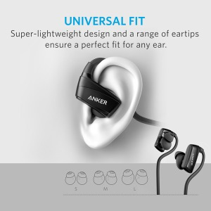 Наушники Anker SoundBuds Sport NB10 Black