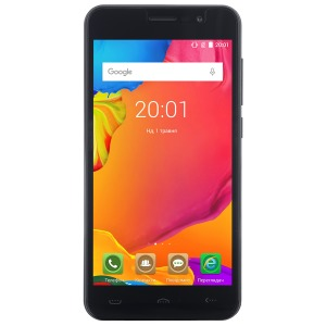 Смартфон ERGO Optima A503 Dual Sim Pure Black