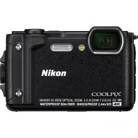 Цифровая камера Nikon Coolpix W300 Black Holiday kit