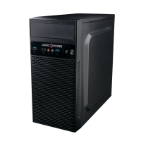 Корпус Logicpower 6101 400W 12см MATX USB 3.0 Black