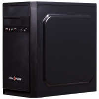 Корпус Logicpower 6100 400W MATX Black