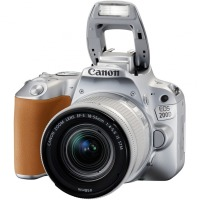Цифрова дзеркальна фотокамера Canon EOS 200D kit 18-55 IS STM Silver
