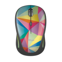 Миша Trust Yvi FX wireless mouse geometrics