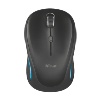 Мышь Trust Yvi FX wireless mouse black