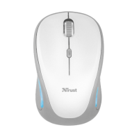 Мышь Trust Yvi FX wireless mouse white