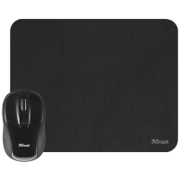 Миша Trust Primo Wireless Mouse With Mouse Pad Black