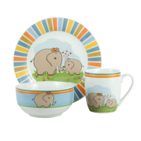 Детский набор LIMITED EDITION ELEPHANTS 1, 3 предмета