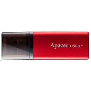 Flash Drive Apacer AH25B 64GB (AP64GAH25BR-1) Red