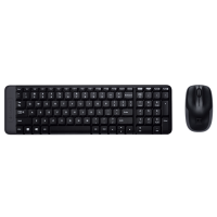 IT набір Logitech Wireless Combo MK220 Black