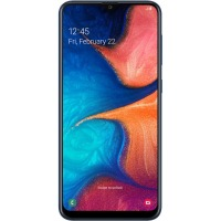 Смартфон Samsung Galaxy A20 3/32GB Blue