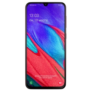Смартфон Samsung Galaxy A40 4/64GB Red