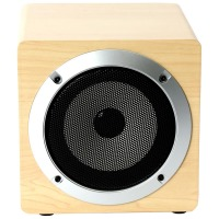 Акустика Omega Bluetooth OG60W Wooden 5W Brown