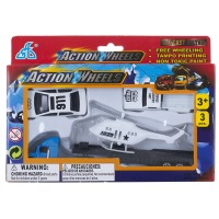 Набор мини транспорта GW Action Wheels 3 эл. 3 вида