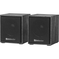 Акустика Defender 2.0 SPK 230V USB 4W Black (65223)