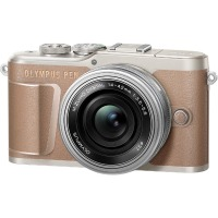 Цифровая камера Olympus E-PL10 14-42 mm Pancake Zoom Kit Brown/Silver