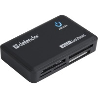 USB-хаб Defender Card Reader Optimus USB 2.0 Black (83501)