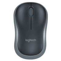 Мышь Logitech Wireless Mouse M185 Swift Grey